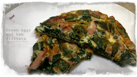 Green eggs and ham frittata_wtr