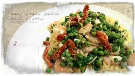 Easy peasy pasta with prawns_wtr