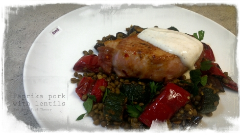 Paprika pork with lentils_wtr