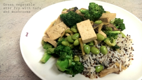 Green vegetable stir fry_wtr