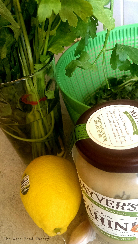 recipe: greenest tahini sauce [29]
